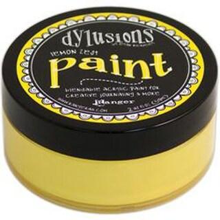 Lemon Zest - Dyan Reaveley's Dylusions Paint 2Oz