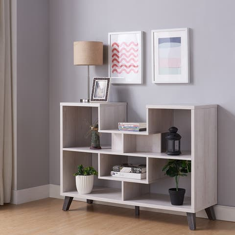 Furniture of America Austy Modern 6-shelf Console Table