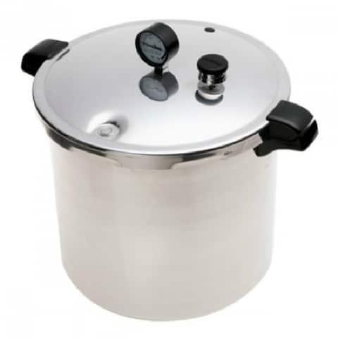 Presto 01781 Preservation 500 Pressure Canner w/ Pressure Gauge, 23 Qt, Aluminum