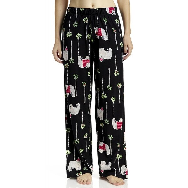 Shop Hue Sleepwear Women s Bear Isla Long Pajama Pants - Free Shipping On  Orders Over  45 - Overstock.com - 19214554 077b706fb