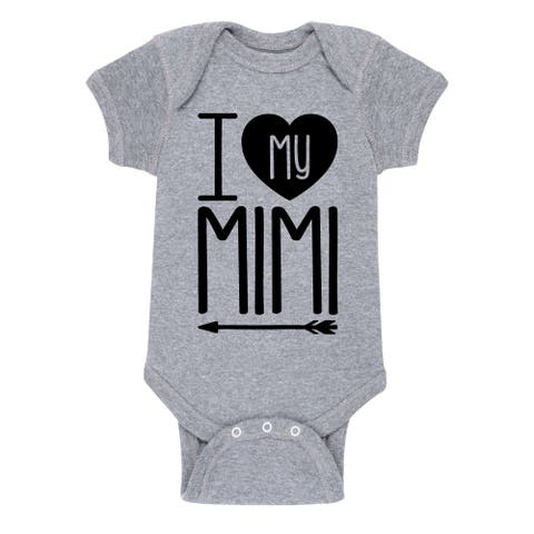 I Heart My Mimi Grandparent Shirts - Infant One Piece