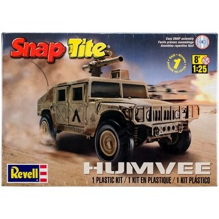 SnapTite Plastic Model Kit-Humvee 1:25