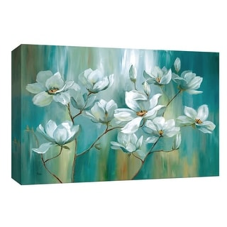 """PTM Images 9-148279  PTM Canvas Collection 8"""" x 10"""" - """"Beautiful Day"""" Giclee Flowers Art Print on Canvas"""