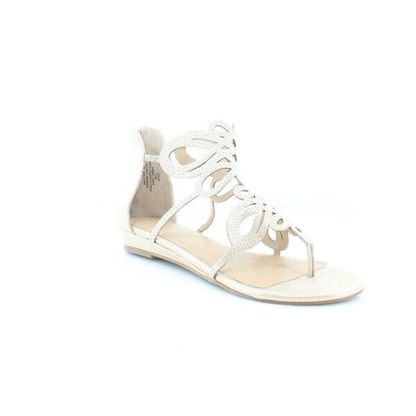 Thalia Sodi Laylan Women's Sandals Champagne