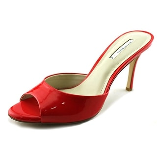 BCBGeneration Disco Women  Open Toe Synthetic Red Sandals