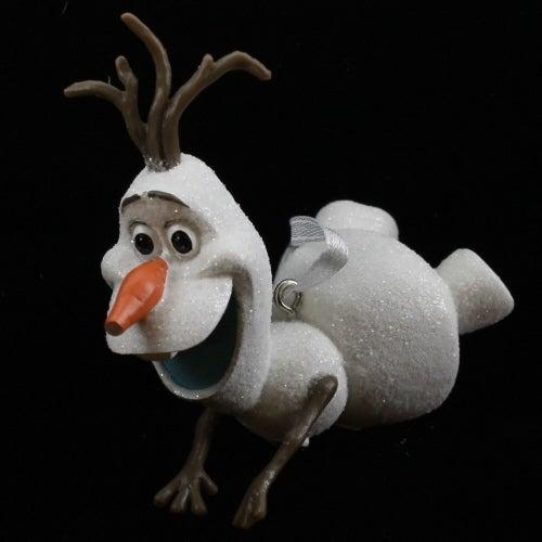 Olaf Sledding