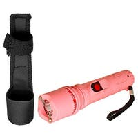 4 Million Volt Guard Dog Inferno Stun Gun Flashlight - Pink