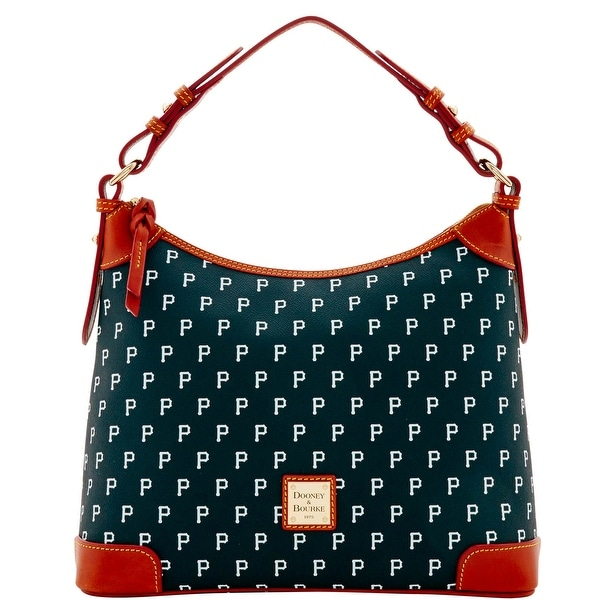 ebc71130ca Dooney & Bourke MLB Pittsburgh Pirates Hobo Shoulder Bag (Introduced by  Dooney &