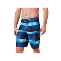 Speedo Mens Printed Drawstring Swim Trunks