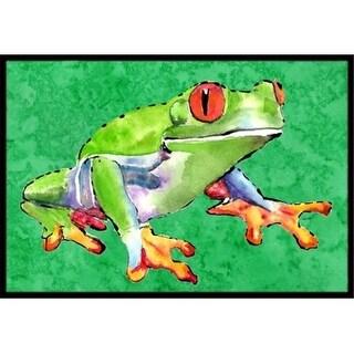 Carolines Treasures 8688JMAT Frog Indoor Or Outdoor Doormat 24 x 36 in.