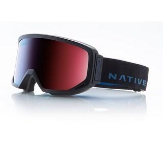 Native Eyewear 2017 Coldfront Ski Goggle - Indigo Strap/Blue Mirror Lens - 410 635 002