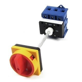 AC220V AC380V AC690V 80A ON/OFF 2 Position Rotary Cam Changeover Switch