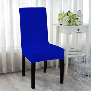 Unique Bargains Stretch Spandex Short Dining Chair Cover