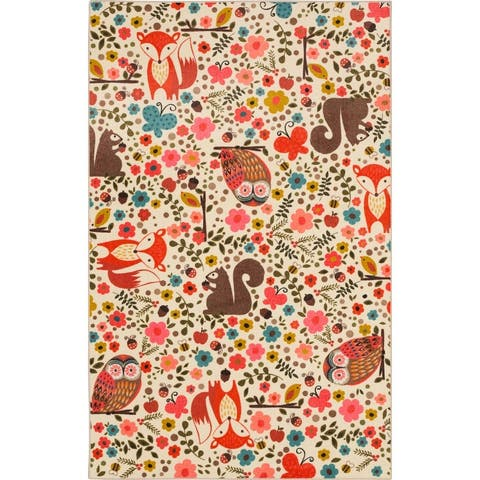 Mohawk Home Enchanted Forest Kids Area Rug