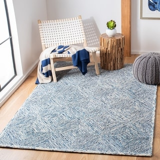 Link to Safavieh Handmade Capri Sigrun Contemporary Wool Rug Similar Items in Transitional Rugs