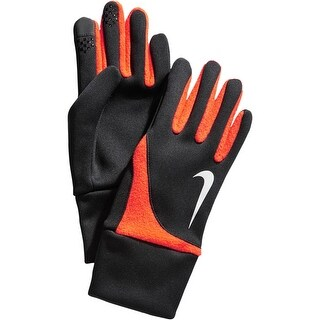 Nike Mens Athletic Gloves Silicone Tips Therma-Fit