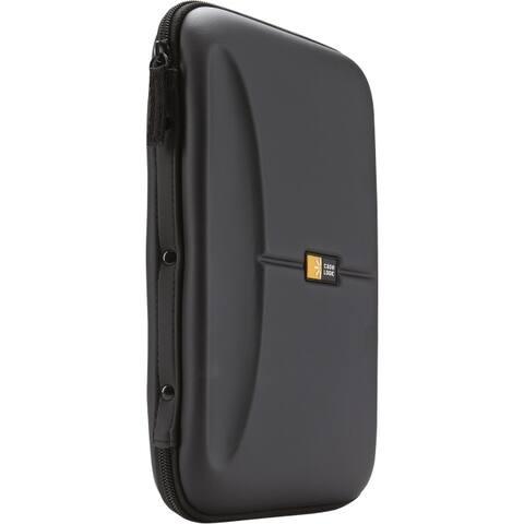 Case logic-personal & portable 3200089 cd wallet hardshell eva black