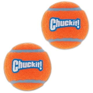 Chuckit 057402 Dog Launcher Tennis Balls, Multicolored, Set of 2 ball