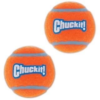 Chuckit 057402 Dog Launcher Tennis Balls, Multicolored, Set of 2 ball