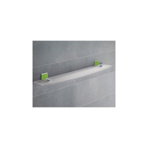 "Nameeks 7819-60 Gedy 23"" Wall Mounted Bathroom Shelf"