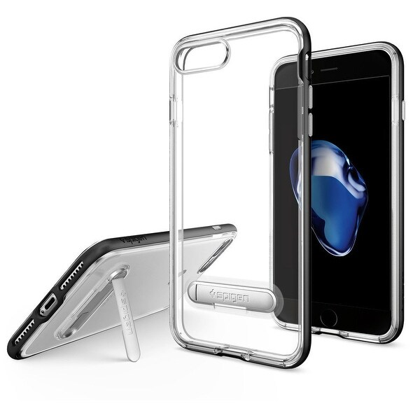 Spigen Crystal Hybrid Case for iPhone 7 Plus in Black
