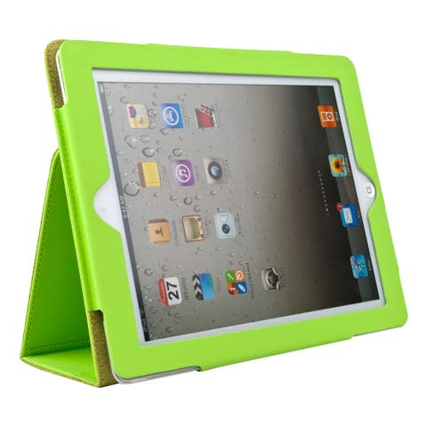 Portfolio Case Fold to Stand for Apple iPad 9.7 Inch with Sleep Mode