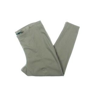 Lauren Ralph Lauren Womens Plus Pants Pull On Seamed