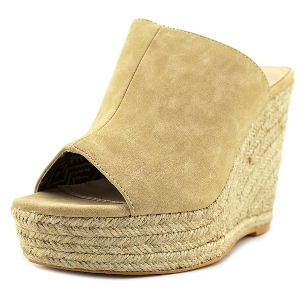 MTNG 52281 Open Toe Synthetic Wedge Sandal