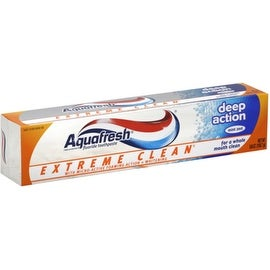 Aquafresh Extreme Clean Toothpaste Deep Action 5.60 oz