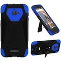 Insten Hard PC/ Silicone Dual Layer Hybrid Case Cover with Stand For Coolpad Catalyst - Thumbnail 4