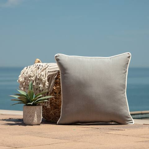 Arden Selections Oasis Indoor/Outdoor Throw Pillow w/ Accent
