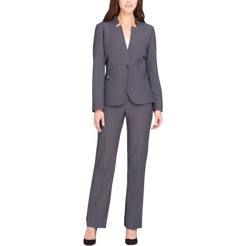 Tahari ASL Womens Pant Suit Professional Workwear