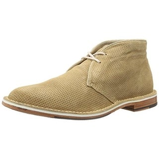 Cole Haan Mens Grover Suede Perforated Chukka Boots