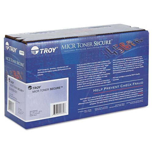 Troy 80X MICR Toner Cartridge - Black Toner Cartridge