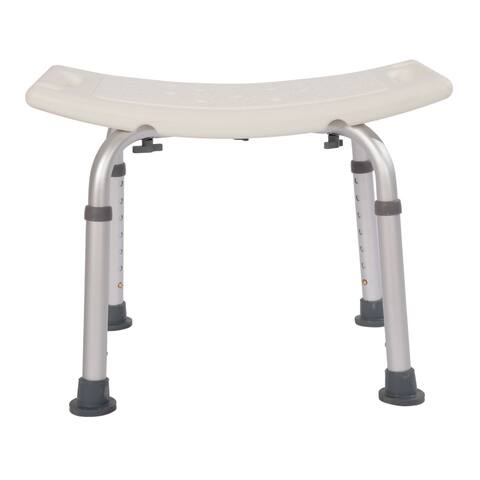 Type Adjustable Aluminum Alloy Old People Shower Chair Bath Chair