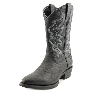 Justin Boots Stampede   Pointed Toe Leather  Western Boot