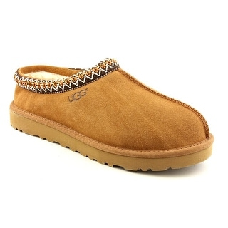 Ugg Australia Tasman Men Round Toe Suede Tan Slipper