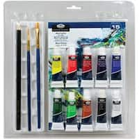 Acrylic Painting 15Pc - Clamshell Art Sets