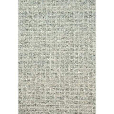 Alexander Home Mosaic Farmhouse Hand-Hooked Wool Rug