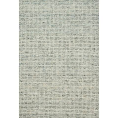 Alexander Home Mosaic Farmhouse Hand-hooked Wool Area Rug