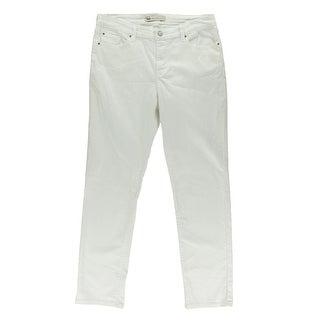 Levi's Womens Denim Mid-Rise Skinny Jeans - 14