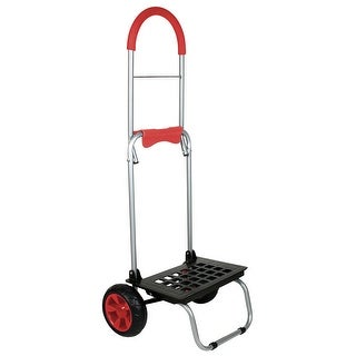 Mighty Max Cart - Lightweight Folding Dolly With Oversized Wheels