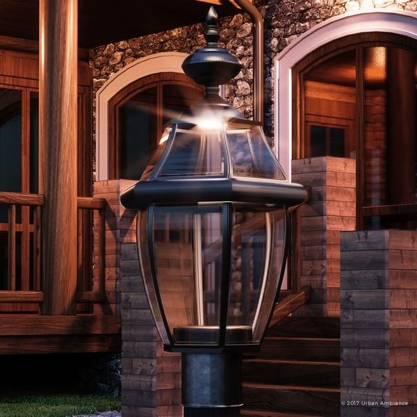 Luxury colonial outdoor led post light 215h x 11w with tudor luxury colonial outdoor led post light 215h x 11w with aloadofball Image collections