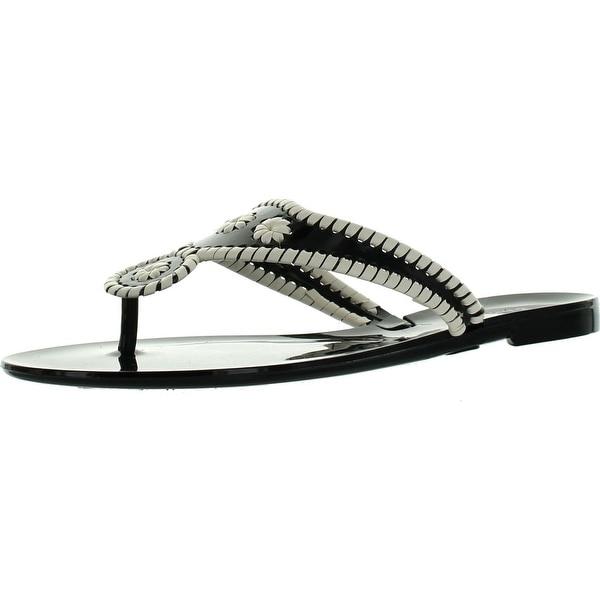 Bamboo Womens Lolli-02 Jellys Flip Flop Sandals
