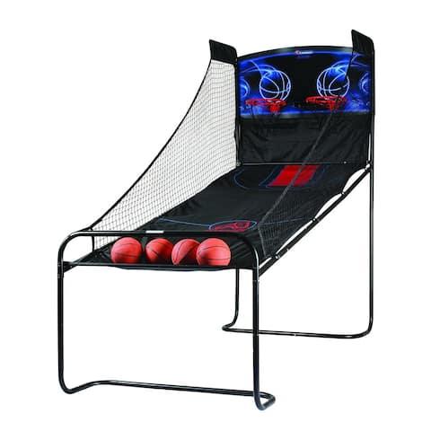 Atomic Jumpball Double Shootout Arcade Basketball Game / M01462AW