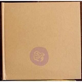 Kraft Large W/6 Pages - Prima Marketing Frank Garcia Memory Hardware Chip Album