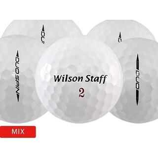 100 Wilson Duo Mix - Near Mint (AAAA) Grade - Recycled (Used) Golf Balls