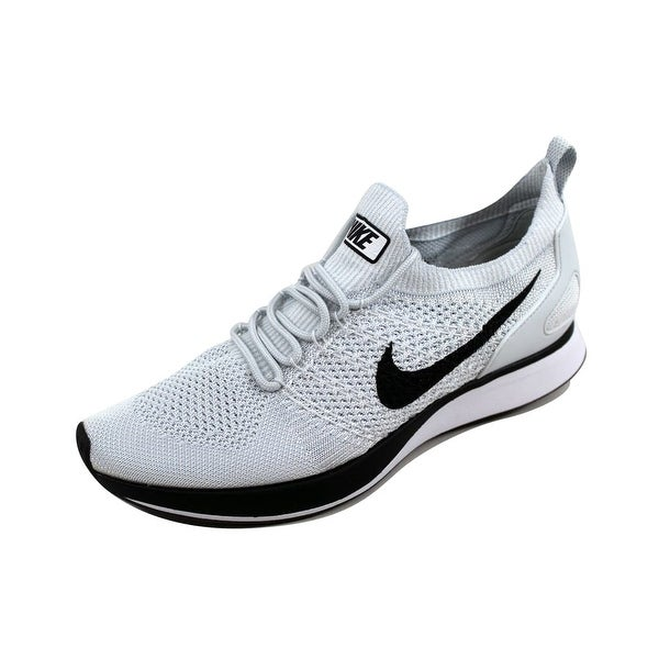 11ccbeda481a3 Nike Men  x27 s Air Zoom Mariah Flyknit Racer Pure Platinum White918264-