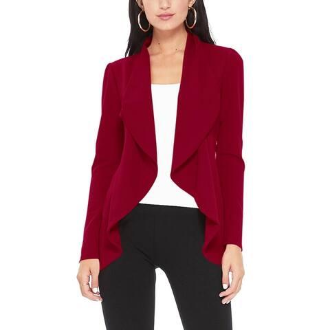 Women's Casual Long Sleeves Solid Blazer Jacket