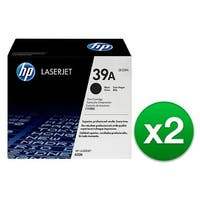 HP 39A Black LaserJet Toner Cartridge (Q1339A)(2-Pack)